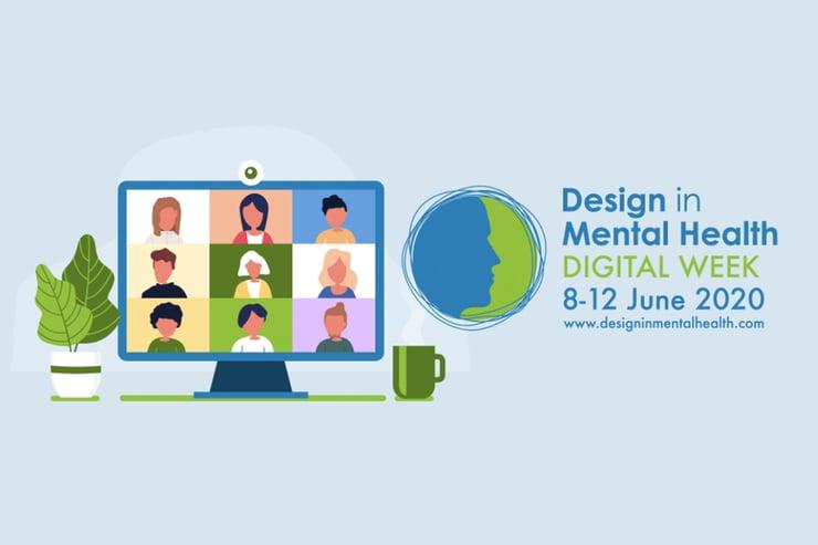 SHP sponsor Design in Mental Health Digital Week