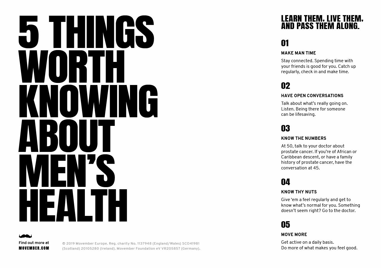 Five things worth knowing