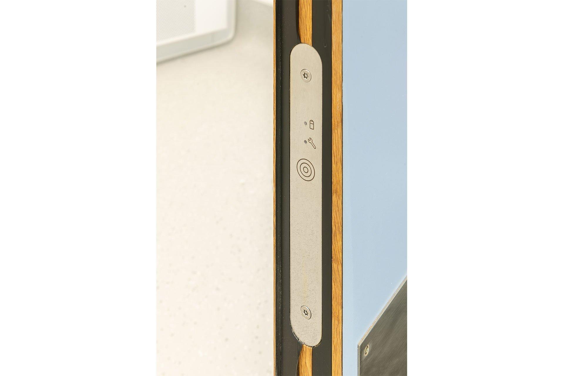 Door alarm testing panel