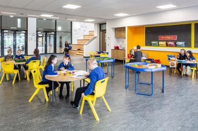 Blairdardie Primary School, classroom