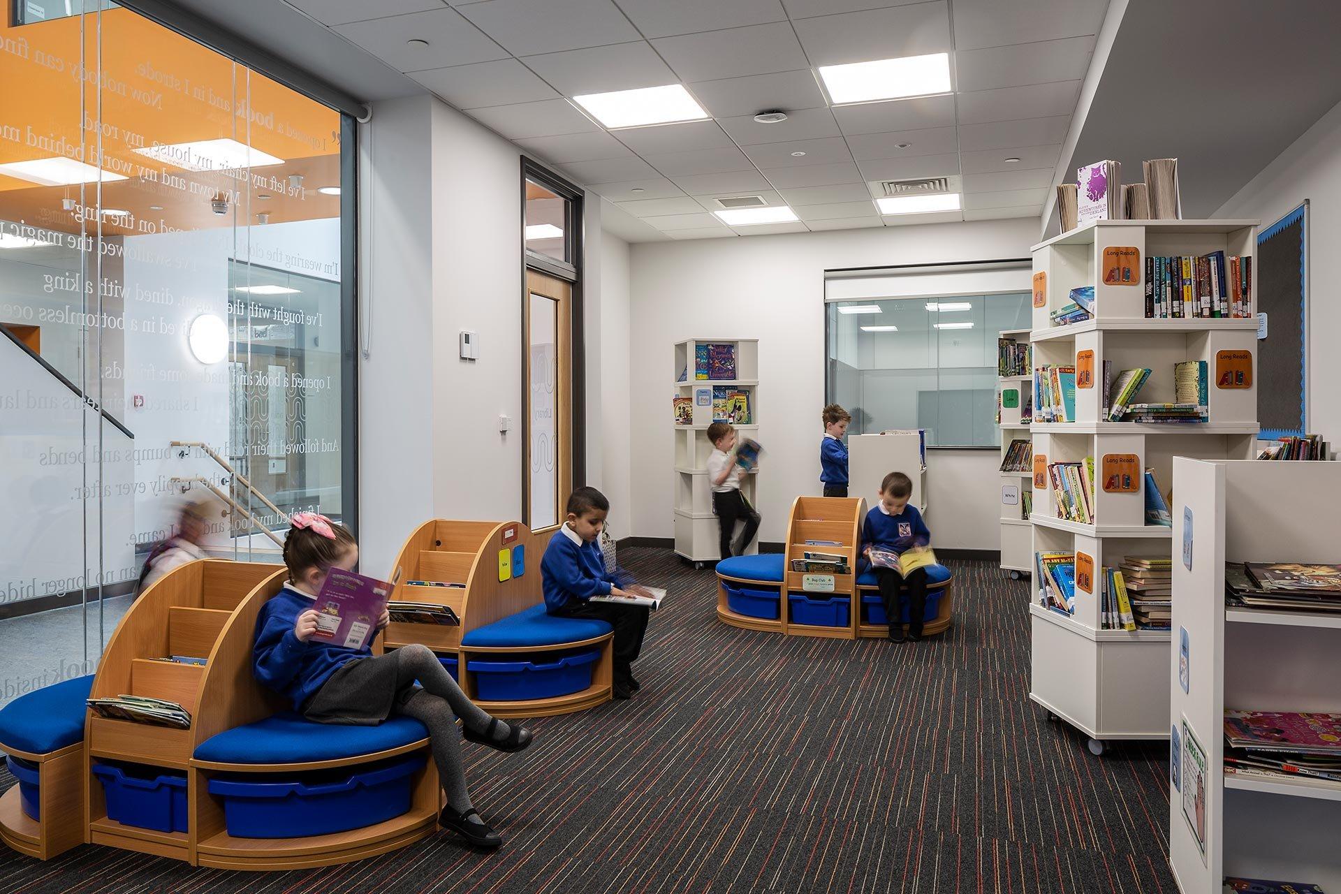 Blairdardie Primary school Library
