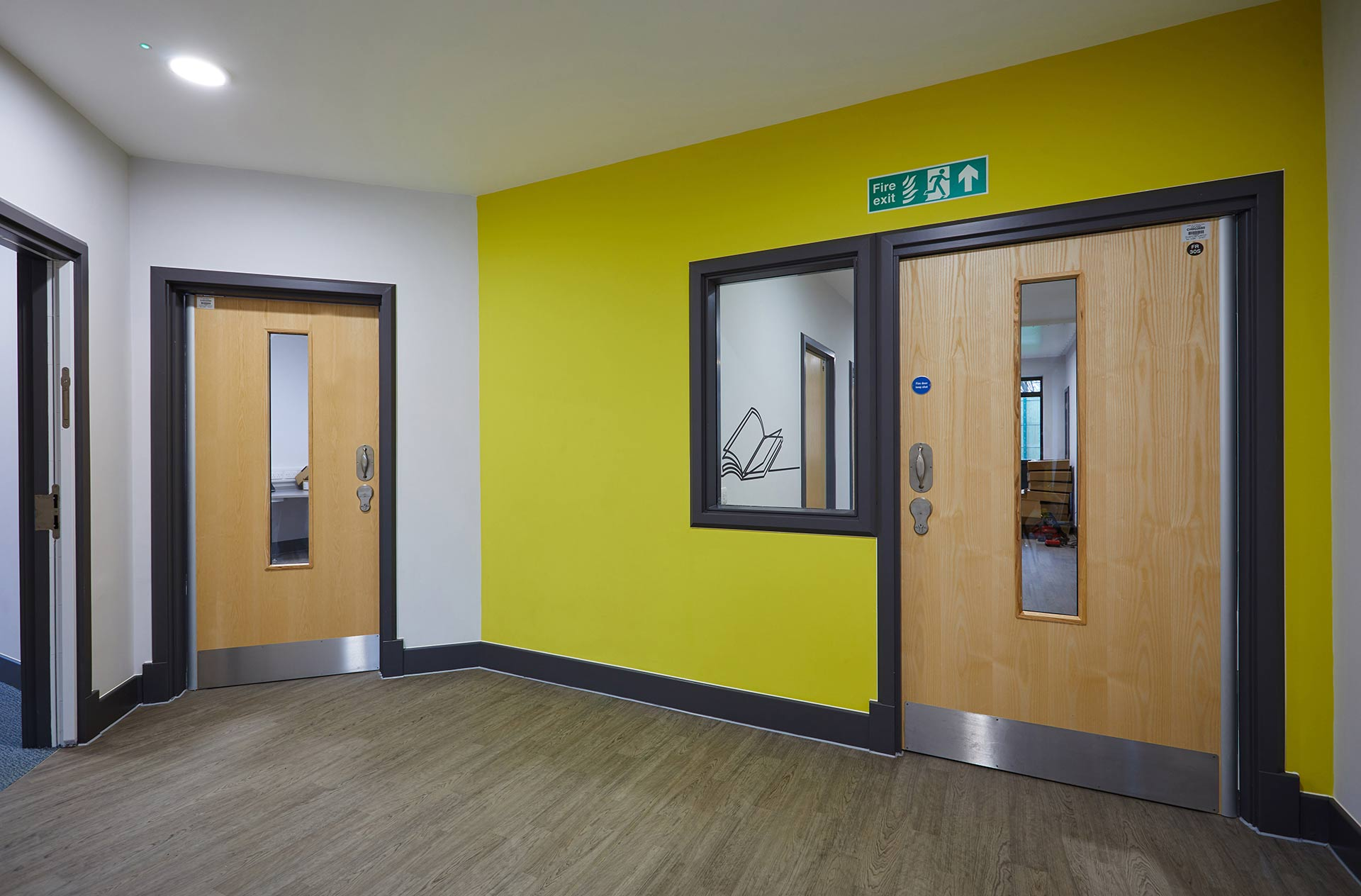 Corridor view at Inspire CAMHS