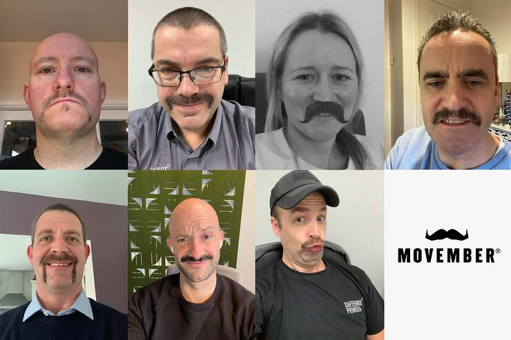 Our Movember Journey: Supporting Men's Health Charities