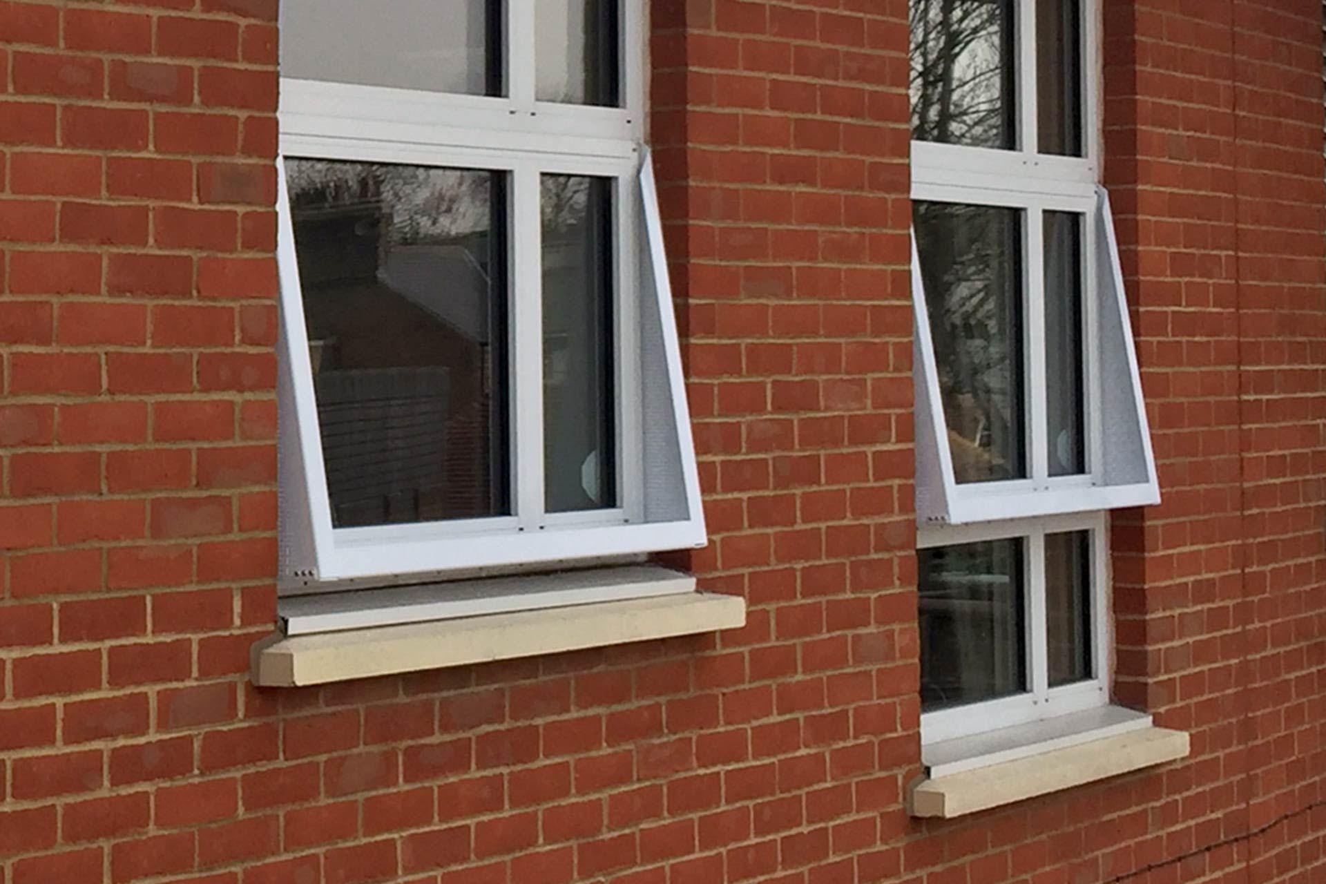 3-part window restrictors