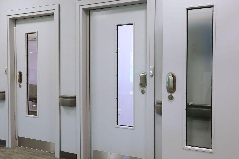 ANTI-BARRICADE DOORSET FOR MENTAL HEALTH
