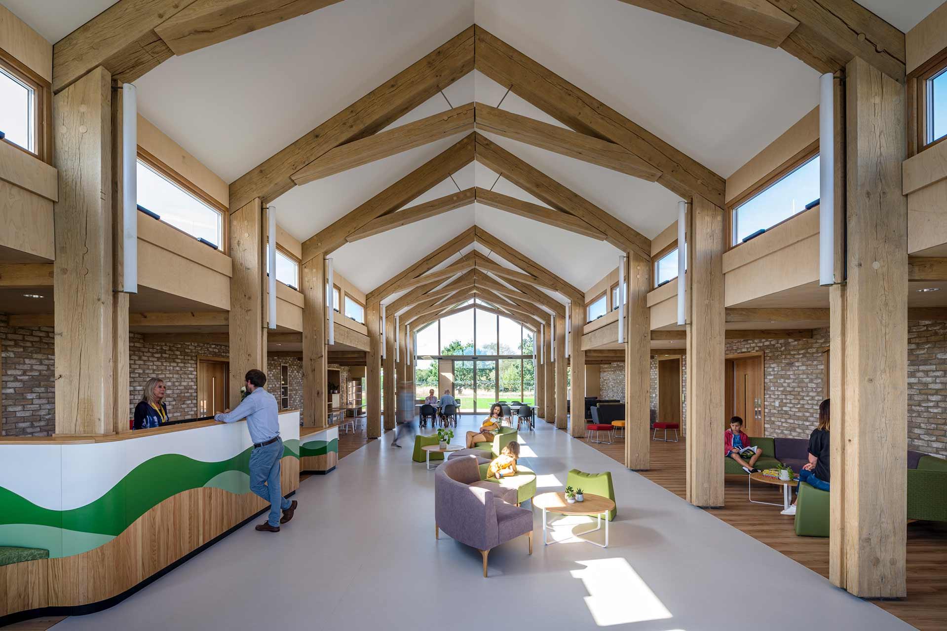 Noah's Ark Children's Hospice interior