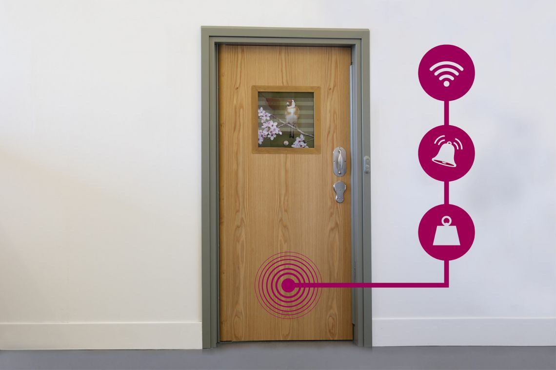 Innovation update: developing an award-winning full-door alarm