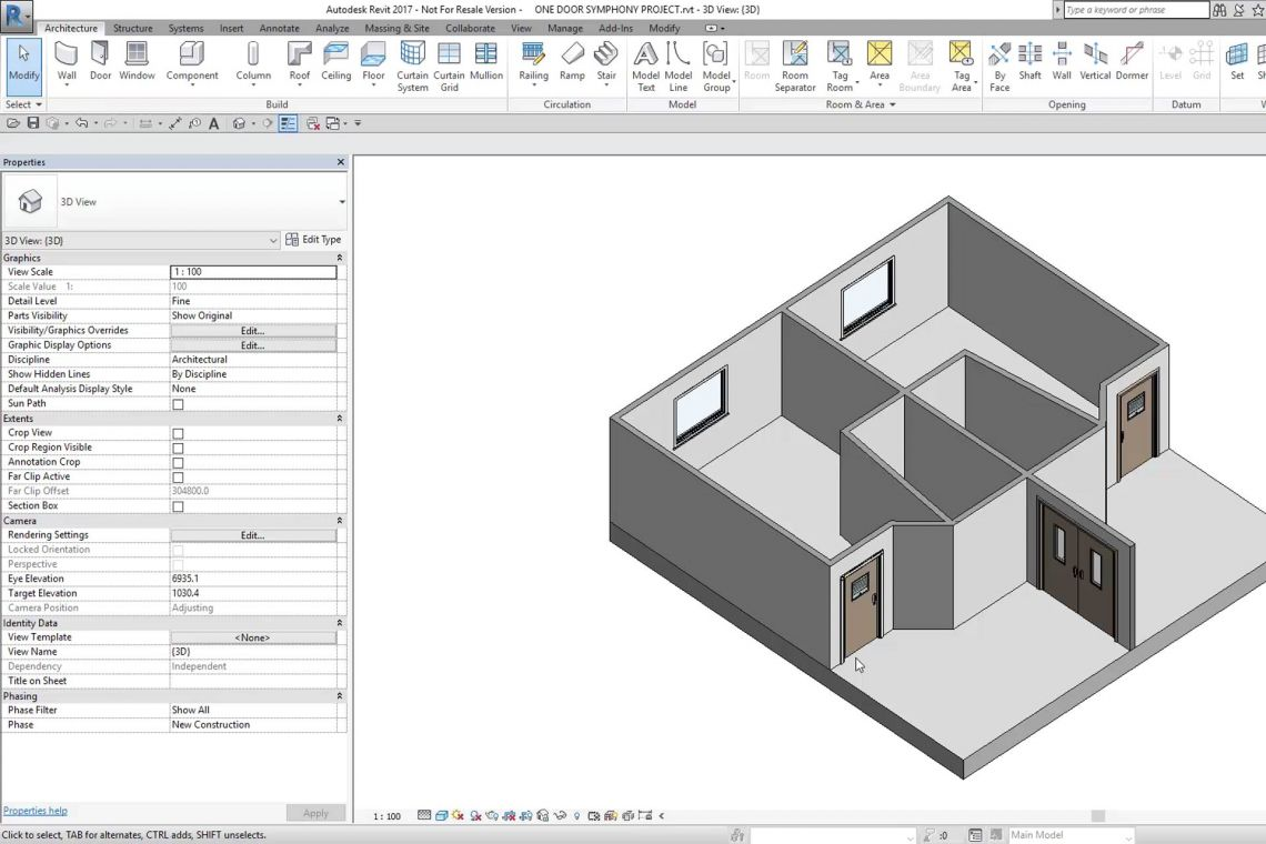 BIM for Symphony Doorsets